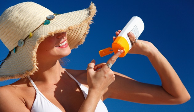 Sunscreen that protects DNA from UV rays