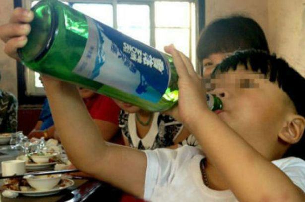 Two-Year-Old Chinese Boy Attracts Global Attention due to Alcohol Addiction