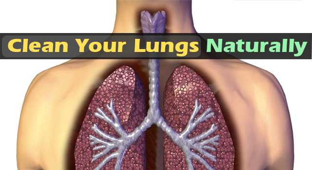 ways to clear lungs naturally
